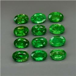 Natural Top Green Tsavorite Garnet Tanzania - Untreated