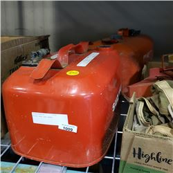 METAL BOAT GAS TANKS