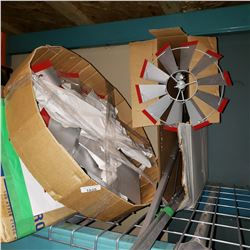 2 LARGE DECORATIVE WINDMILL KITS