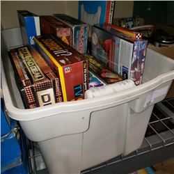 TOTE OF BOARD GAMES
