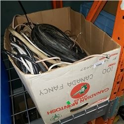 BOX OF CABLE AND WIRE