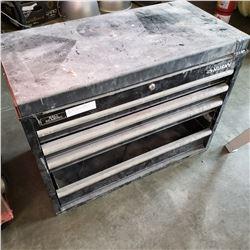 HUSKY TOOL BOX W/ AUTOMOTIVE LOGOS