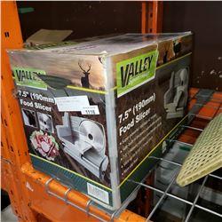 """VALLEY SPORTSMAN 7.5"""" FOOD SLICER"""