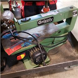 """GRIZZLY INDUSTRIAL 16"""" SCROLL SAW AND 2 PACKS OF BLADES"""