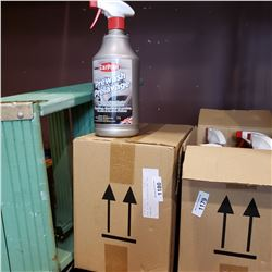 BOX OF CAR DEGREASER AND TAR REMOVER