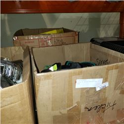 2 BOXES OF SAFETY PROTECTION GEAR