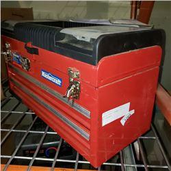MASTERCRAFT 2 DRAWER TOOL BOX W/ CONTENTS