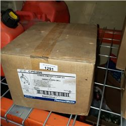 BOX OF COBRA PIPE CLAMPS