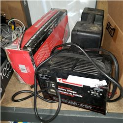 BATTERY TIRE, TILE CUTTER, AND TIRE CHAINS