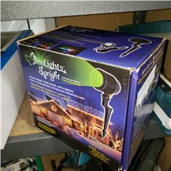 AS NEW IN BOX BLISS LIGHTS LANDSCAPE LASER PROJECTOR
