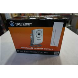 TRENDNET WIRELESS INTERNET CAMERA