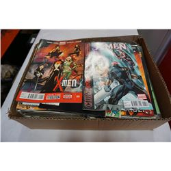 BOX OF 100 COLLECTIBLES COMICS