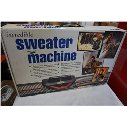 AS NEW SWEATER MACHINE IN BOX