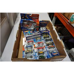 TRAY OF NEW HOT WHEELS INCLUDING OCC