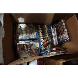 BOX OF BLU RAYS