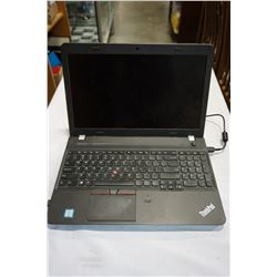 LENOVO THINKPAD LAPTOP W/ CHARGER