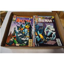 BOX OF 100 COLLECTIBLES COMICS