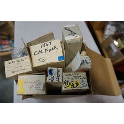 BOX OF NEW OLD STOCK ASSORTED CUTLERY