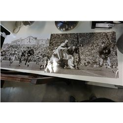 2 FOOTBALL PRINTS, VINTAGE IMAGES