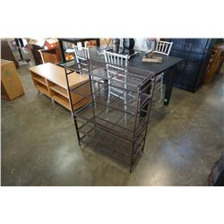 METAL DECORATIVE SHOE RACK
