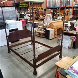 ETHAN ALLEN DOUBLE SIZE BED FRAME