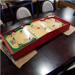 1949 WOODEN ORIGINAL TWIST HOCKEY GAME