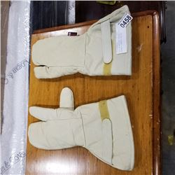 PAIR OF WATSON LEATHER LINED GLOVES - RETAIL $99.99