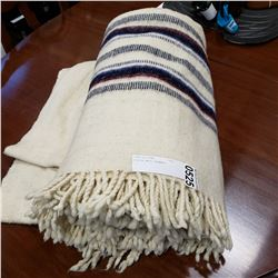 FINISH WOOL BLANKET