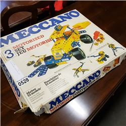 VINTAGE MECANNO MOTORISED SET 3