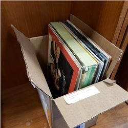 BOX OF RECORDS, ELVIS, BEATLES AND OTHER