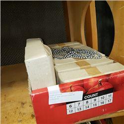 BOX OF NEW SZECHOSLOVAKIAN NECKLACES