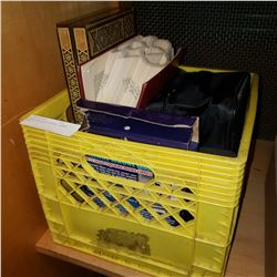 CRATE OF ELECTRONICS, GAMES, ETC