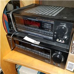 SONY STR-DAII AND KENWOOD KR-V8030 RECEIVERS