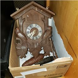 WOODEN CUCOO CLOCK