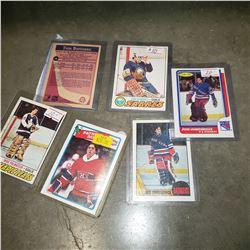 VINTAGE OPEECHEE HOCKEY STAR GOALIE AND ROOKIE CARDS