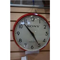 SONY WALL CLOCK