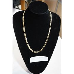 STAMPED 18K GOLD NECKLACE - UNTESTED, NOT GUARANTEED