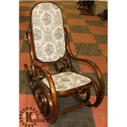 VINTAGE STYLE ROCKING CHAIR.