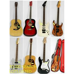 FEATURED GUITARS AND INSTRUMENTS