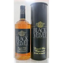 BLACK VELVET CANADIAN WHISKEY 1.14L, 40%.