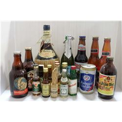 VINTAGE BEER COLLECTION BACK TO 1961