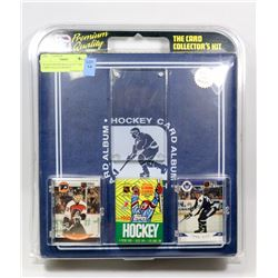 "SEALED PREMIUM QUALITY ""THE CARD COLLECTORS KIT"""