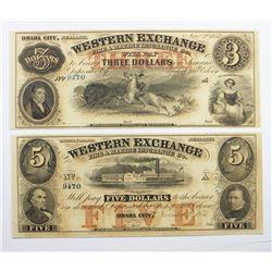 WESTERN EXCHANGE NEBRASKA 1850'S