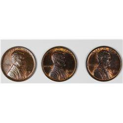 ORIGINAL LOT OF THREE CH BU 1910 LINCOLNS