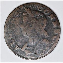 1786 CONNECTICUT CENT M5. 10-P RARITY5+