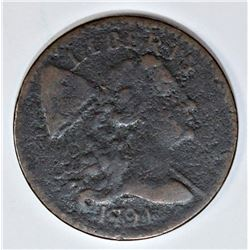 OLD COLLECTION 1794 LARGE CENT S-60 R3