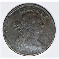 OLD COLLECTION 1797 LARGE CENT WITH STEMS