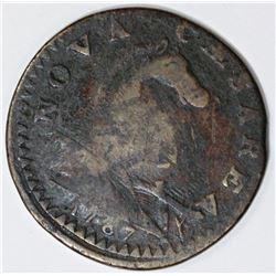 1787 NEW JERSEY CENT. MARS 46E