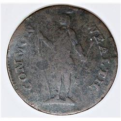 MASS. CENT 1787 RYDER 6G R4