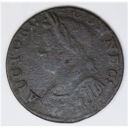 1786 CONNECTICUT CENT MILLER 5.7-H1 RARITY 6